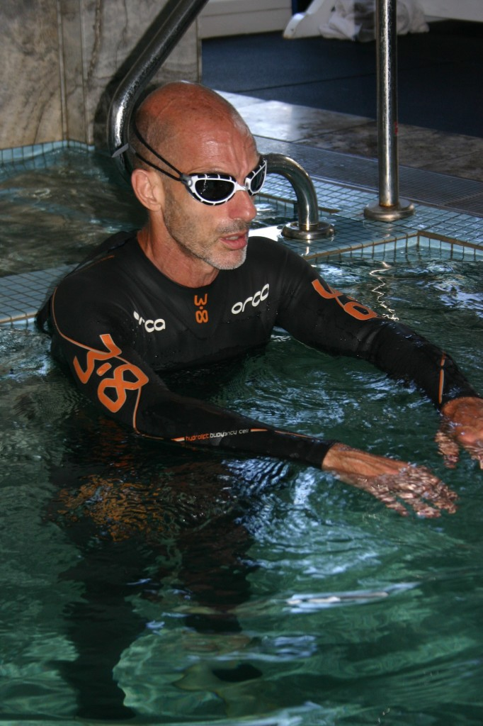 Rod Cedaro triathlon training